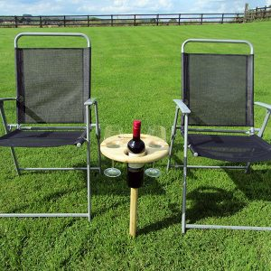Picnic 'Tipple Table' Wine Stand