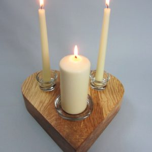 Wedding Unity Candle Holder